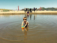 Beach Time at Crissy Field