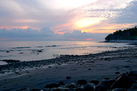 Sunrise on Aas beach