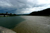 The confluence of Rhine & Mosselle