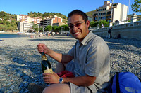 Getting lost on Costa Brava (and while lost, we had to complete the equation with a bottle of cava)