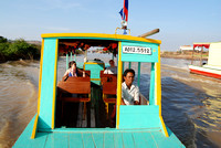 120. A boat ride on SE Asia's largest lake, Tonle Sap