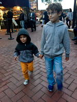 Fishermans Wharf with Jonah & Ender, November
