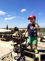 "In the meantime... at the ""one of the most diverse tank museums in the world"", Yad La-Shiryon"
